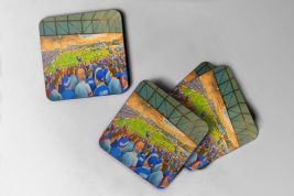 belle vue  Coaster set of four
